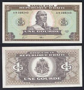Haiti 1 gourde 1987 FDS/UNC  A-04