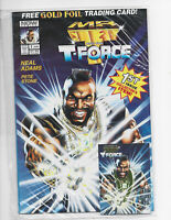 NOW Comics MR.T AND THE T-FORCE W/CARD #1.#A110702-3 FACTORY SEALED