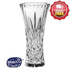 Bohemia Crystal Sheffield Waisted Vase 20.5cm | Priceless Birthday Present