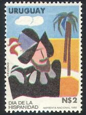 Uruguay 1981 Hispanidad Day/Conquistador/Soldier/Military/Animation 1v (n40387)
