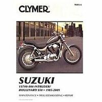 1985 - 2009 Suzuki VS700 VS800 Intruder Boulevard S50 Clymer Repair Manual M4816