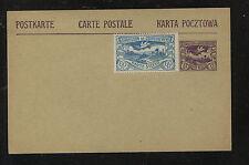 Upper  Silesia uprated post   card  unused          MS0201