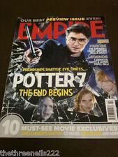 EMPIRE MAGAZINE #256 - HARRY POTTER 7 - OCT 2010