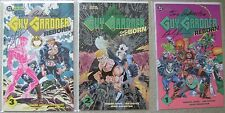 GUY GARDNER REBORN #1-3 DC COMICS 1992 VF to NM COMPLETE SET SIGNED BY JONES+_