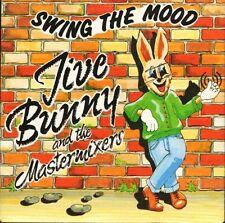 "JIVE BUNNY swing the mood/glenn miller medley MFD001 music factory 7"" PS EX/EX"