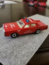 Matchbox Lesney England Fire chief 1 Los Angeles city department mercury