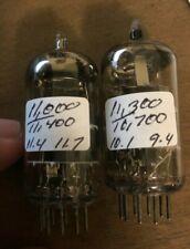 2 x 6DJ8/E88CC Amperex Bugle Boy Tubes - Strong Pair