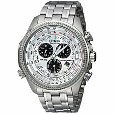Citizen Eco-Drive Men's Perpetual Calendar Chronograph 48mm Watch BL5400-52A