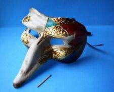 Venezianische Schnabel Maske Karneval Venedig Reise Andenken