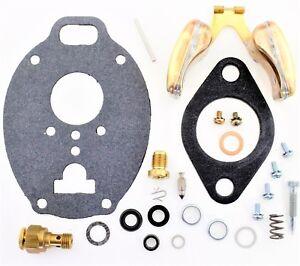 Carburetor Kit Float Adjustable Jet fits John Deere sprayer TSX941 TSX941SL  B62