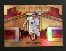 2019-20 Panini Gold Standard Michelle Akers Solid Gold Fine #7/29 United States