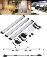 3X LED Under Cabinet Lighting 3 Panel Kit 12V Home Kichen Under Counter Lights
