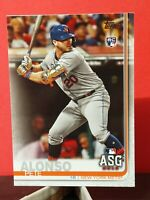 2019 Topps Update All Star Game US47 RC Pete Alonso New York Mets