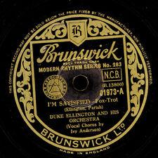 DUKE ELLINGTON & Orch. & Ivy Anderson I 'm Satisfied/sump' n Bout Rhythm x312