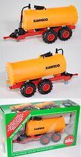 Siku Farmer 2252 Vakuum-Faßwagen, verkehrsrot/orange, KAWECO, 1:32