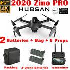 Hubsan Zino PRO 5KM 4K FPV Quadcopter APP Drone W/3 Gimbal Camera +2Battery+Bag