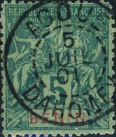 "BÉNIN / DAHOMEY - "" AGOUE / DAHOMEY "" CàD du 5 juillet 1901 sur Yv.36"