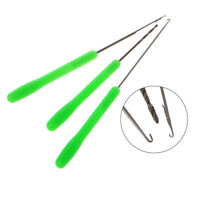 3 In 1 Fishing Fish Bait Needle Tool Set Drill Hook Rig Needle For Making Rigs