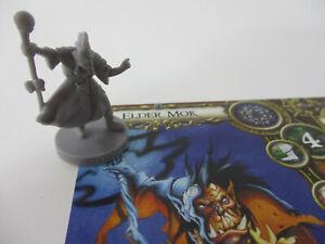 DESCENT Oath of the Outcast ELDER MOK Miniature Figure & GAME CARD FFG!!