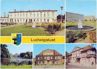 "Ludwigslust Bahnhof, John-Brinckman-Straße,   HO-Hotel ""Mecklenburger Hof"" 1986"