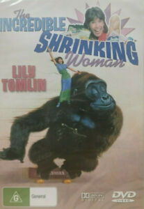 The Incredible Shrinking Woman DVD 1980s Movie Lily Tomlin - PAL REGIONS