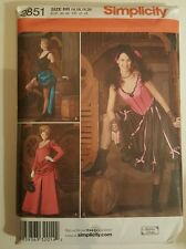 New PATTERN Saloon Style Adult 14-20 Outfit Late 1800s Reenactment s2851 Sewing