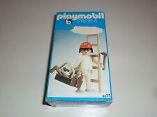 Playmobil Klicky 3311 Figur Bauarbeiter Baustelle 70er 80er Jahre OVP