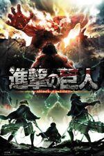 Attack on Titan Season 2 TV 24x36 Movie Poster Manga Anime