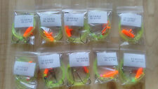10x Running ledger fishing pennel rigs 3/0 baitholder good for cod bass etc