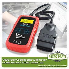 Kompakt OBD2 Code Lesegerät für Fiat. Scanner Diagnose Motor Light