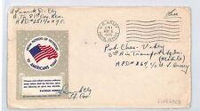 BM295 1945 Estados Unidos Servicio Postal del Ejército de Estados Unidos Florencia {samwells-cubre} Pts