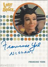 THE COMPLETE LOST IN SPACE FRANCINE YORK NIOLANI THE COLONISTS AUTOGRAPH LAST 1