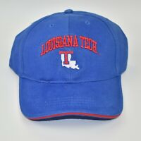 Louisiana Tech Bulldogs NCAA Vintage 90's Adjustable Strapback Cap Hat - NWT