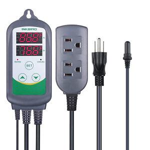 Inkbird Aquarium Thermostat Heater Digital Temperature Controller Removal Probe