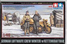 Tamiya /ICM German Luftwaffe Crew (Winter) w/ Kettenkraftrad in 1/48 32412 ST CA