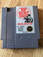 Golgo 13: Top Secret Episode Original Nintendo NES Cart BT1