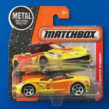 2016 Matchbox 2015 CHEVROLET CORVETTE STINGRAY FIRE RESCUE mint on short card!