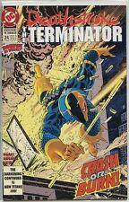 Deathstroke the Terminator 1991 series # 24 near mint comic book