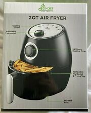 ECO CHEF  2qt AIR FRYER * 1000 watt  * Adjustable Thermostat * NEW