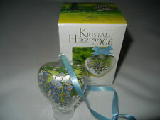 Hutschenreuther Cristallo Cuore Di vetro 2006 ( MIO ARTICOLO N.2006-2 )