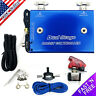 Dual Stage Electronic Boost Controller EBC MBC Kit w/Switch 0-30 PSI