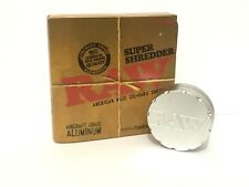 Raw Super Shredder Broyeur Rolling Papers AIRCRAFT Grade 2 partie-aluminium