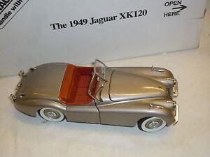 A Danbury mint scale model of a Jaguar XK120,  boxed