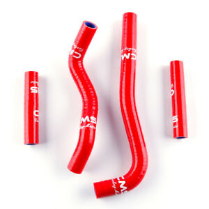 Red Silicone Radiator Cooling Hose Tube Kit for 2007-2020 Honda CRF150R CRF150RB