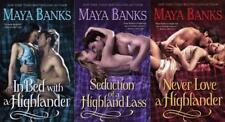 Maya Banks Historical Romance McCABE TRILOGY Collection Set of Paperbacks 1-3