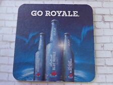 Beer COASTER ~*~ LABATT Brewing Blue Royale Light Canadian Style Lager ~ CANADA