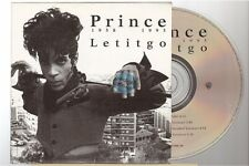 PRINCE letitgo let it go CD SINGLE france french card sleeve
