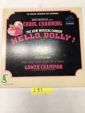 Hello Dolly Original Broadway Cast Recording  Vinyl  LP Album