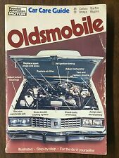 1988 to 1998 Oldsmobile Car Care Guide Popular Mechanics