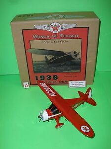 2007 WINGS OF TEXACO #15 1939 HOWARD DGA-15 AIRPLANE REGULAR EDITION